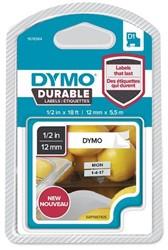 Dymo D1 duurzame tape 1978364 12mm zwart op wit