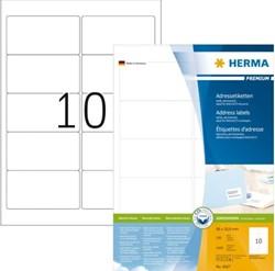 Herma 4667 A4 etiket 95x50,8mm doos 1000 etiketten
