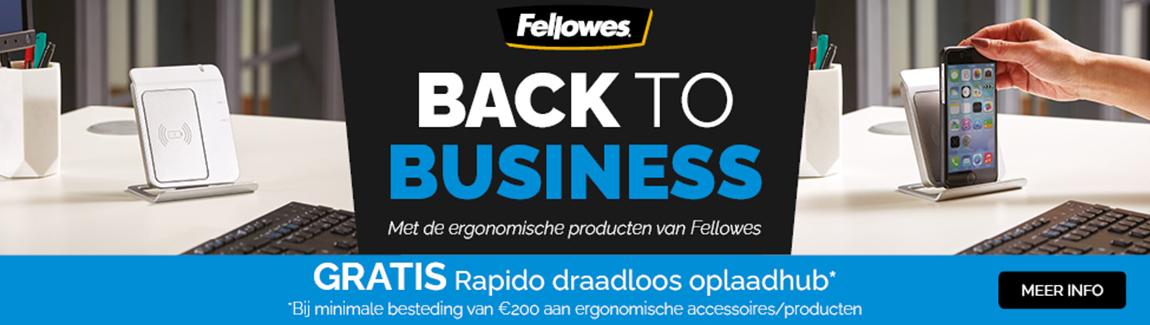 Fellowes actie ergonomische producten