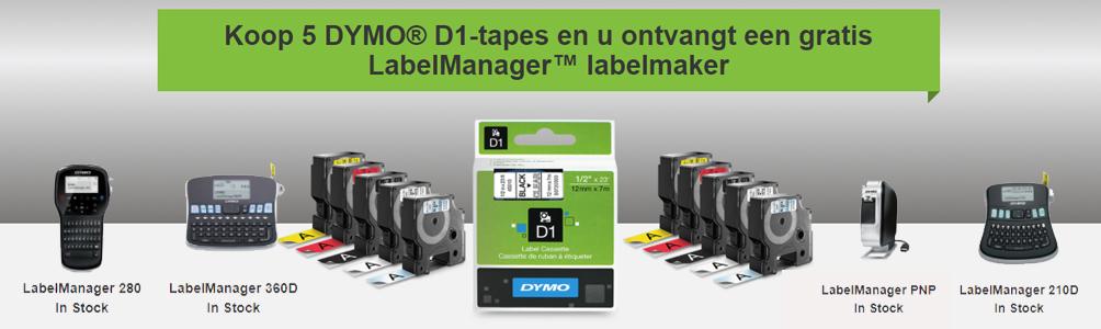 Dymo D1 labeltape
