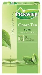 Pickwick thee, groene thee Pure, pak van 25 stuks