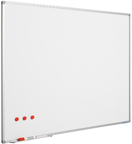 Groot whiteboard emaille Smit Visual 120x240cm