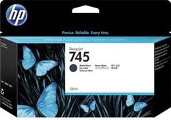 HP 745 cartridge F9J99A matt zwart