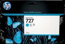 HP 727 Inktcartridge B3P19A cyaan