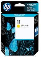 HP 11 inktcartridge C4838A geel