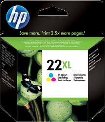 HP 22XL inktcartridge C9352CE kleuren