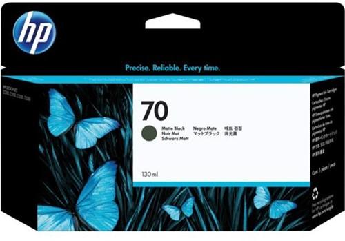 HP 70 inktcartridge C9448A zwart mat