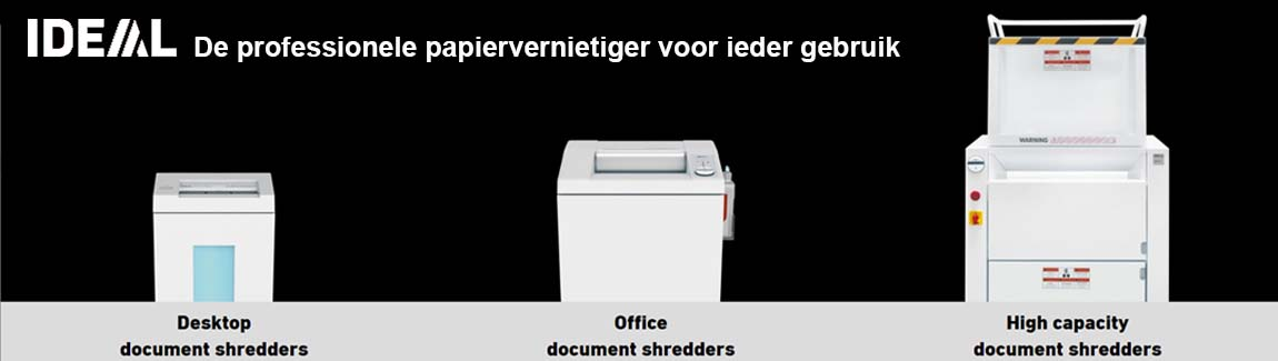 Ideal papierversnipperaar