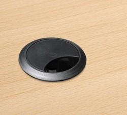 Kabeldoorvoerdop Ø60cm zwart