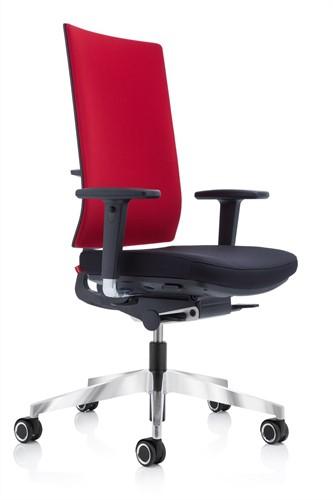 Bureau Stoel Rood.Ergonomische Bureaustoel Kohl Anteo Up Slimline Tonga To30 Rood