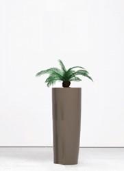 Kunstpalm hoog met plantenbak rond 90cm