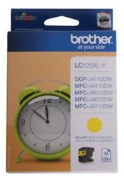 Brother inkjet Brother LC125XLY Inktcartridge geel