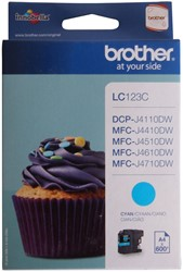 Brother inkjet Brother LC123C Inktcartridge cyaan