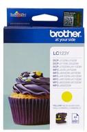 Brother inkjet Brother LC123Y Inktcartridge geel