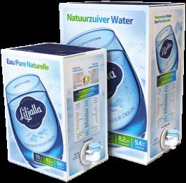 Lifjalla bronwater bag-in-box van 10 liter