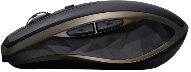 Logitech MX Anywhere 2 bluetooth muis zwartgoud