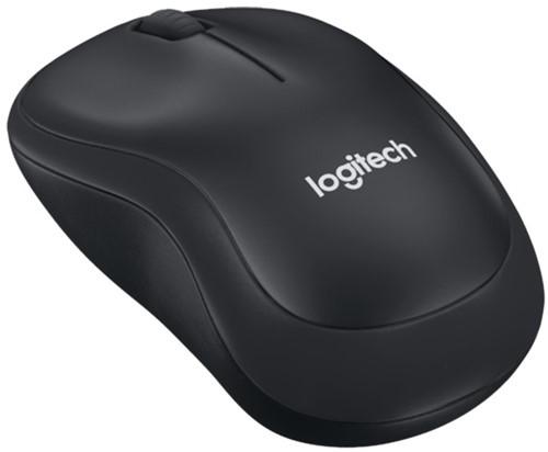 Logitech B220 Draadloze muis zwart 5+1