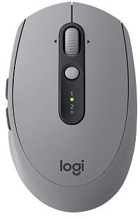 Logitech draadloze muis M590 grijs