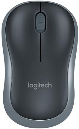 Logitech M185 draadloze muis grijs 5+1
