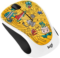 GoGo Gold draadloze muis Doodle Collection