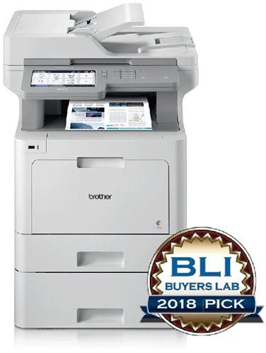 All in one printer Brother MFC-L9570CDWTS met twee papierladen