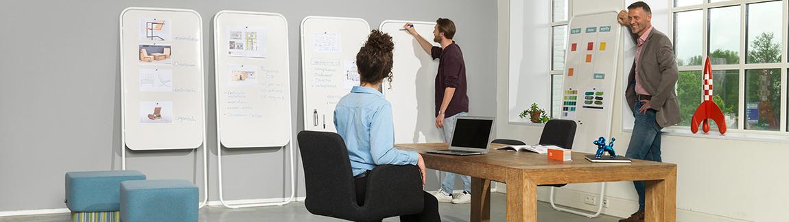 Verplaatsbaar whiteboard Momentum