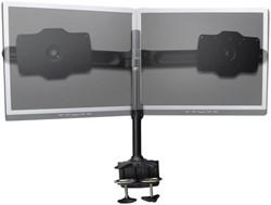 Monitor arm voor 2 schermen met kabelmanagement