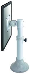 Monitor arm met een draagvermogen van 12 kg FPMA-D025SILVER