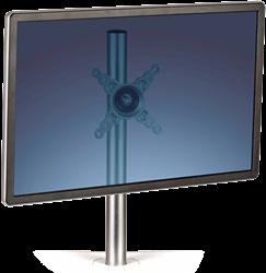 Monitorarm met uitsparing voor 1 monitor