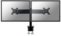 Monitor arm voor 2 beeldschermen met een draagvermogen van 16 kg