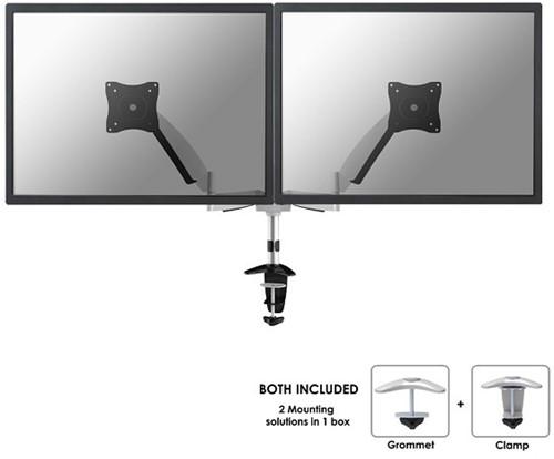 Monitor arm 2 beeldschermen newstar FPMA-D950D