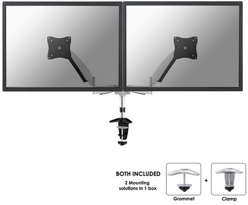 Monitor arm twee schermen newstar FPMA-D950D