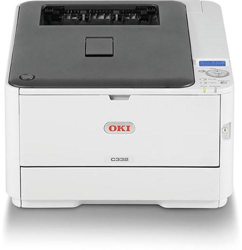 OKI C332DNW wifi printer LED technologie