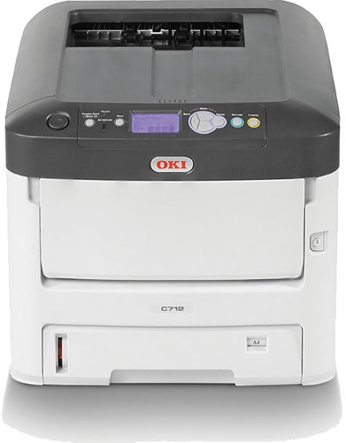 OKI C712DN kleuren LED printer
