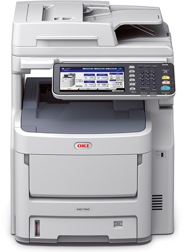 OKI MC770 All in One led printer met fax