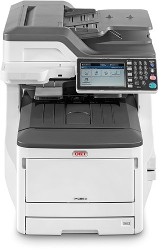 OKI MC853dn all in one led printer A3