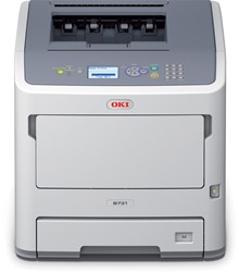 LED printer met wifi OKI B731dnw 52 ppm