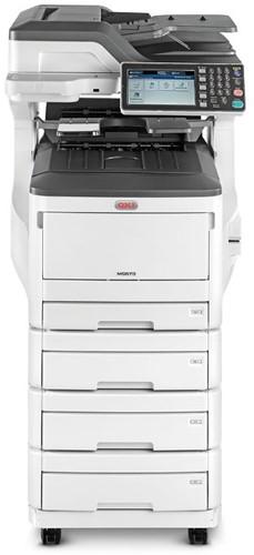 Tweedehands kopieermachine OKI ES8453dnv 25 ppm 4 papierladen