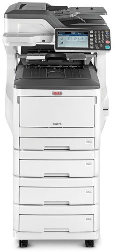 Tweedehands kopieermachine OKI ES8473dnv 35 ppm 4 papierladen occassion