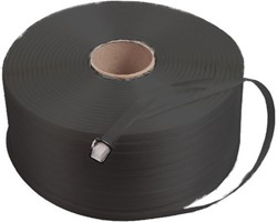 Omsnoeringsband zwart 8mm PP 4000m