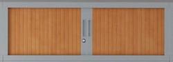 Opzetkast 100 cm breed voor roldeurkast ARMIN