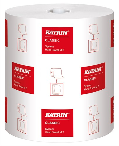 Handdoekrol Katrin Classic M2 2-laags 21cm x 160 meter