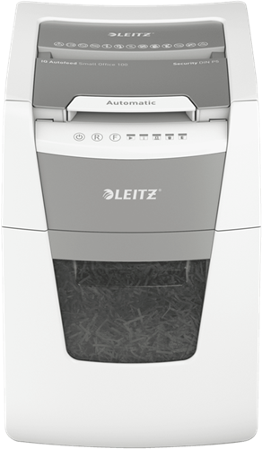 Papiervernietiger Leitz IQ Auto+ Small Office 100 P4 snippers 4x30mm