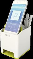 Leitz WOW bureau organizer 2 vakken en geluidsversterker