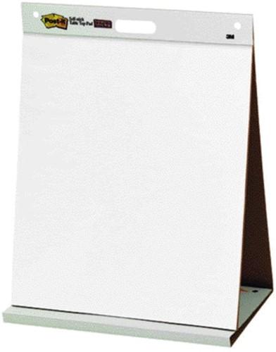 Post-it tafelflipover met zelfklevende vellen 51 x 69cm