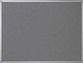 Prikbord vilt met aluminium frame 60 x 90 cm