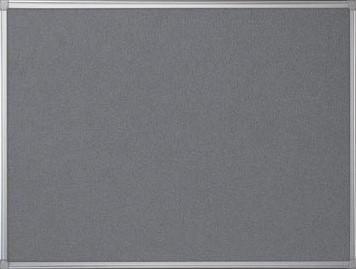 Prikbord vilt met aluminium frame 90 x 120 cm