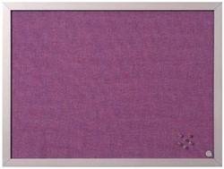 Prikbord vilt met parelmoer lijst 45 x 60 cm