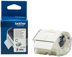 Kleurenlabelprinter reinigingscassette CK1000 50mm 2mx50mm