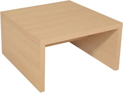 Vierkante salontafel voor kantoor of entree 70x70cm
